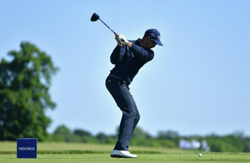 STOCKHOLM, SWEDEN - JUNE 04: Henrik Stenson player his first shot on the second hole during the third round on day three of The Nordea Masters at Bro Hof Slott Golf Club on June 4, 2016 in Stockholm, Sweden. (Photo by Stuart Franklin/Getty Images)